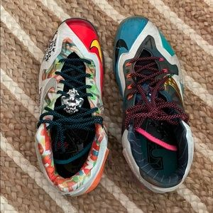 Lebron 11 What The Lebron Size 12